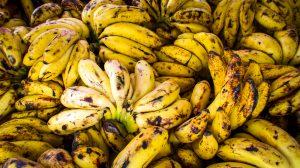 Övermogna bananer
