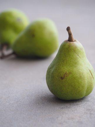 gröna päron